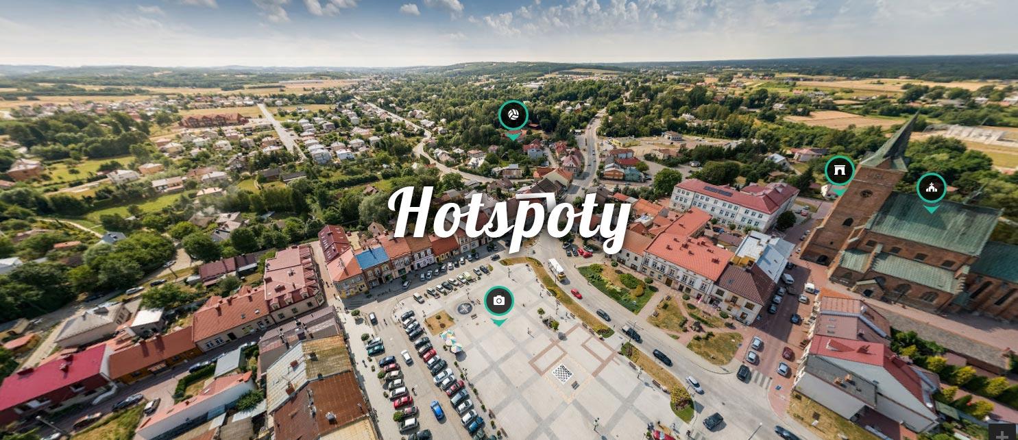 Jak dodać hotspoty do panoram w mapach Google