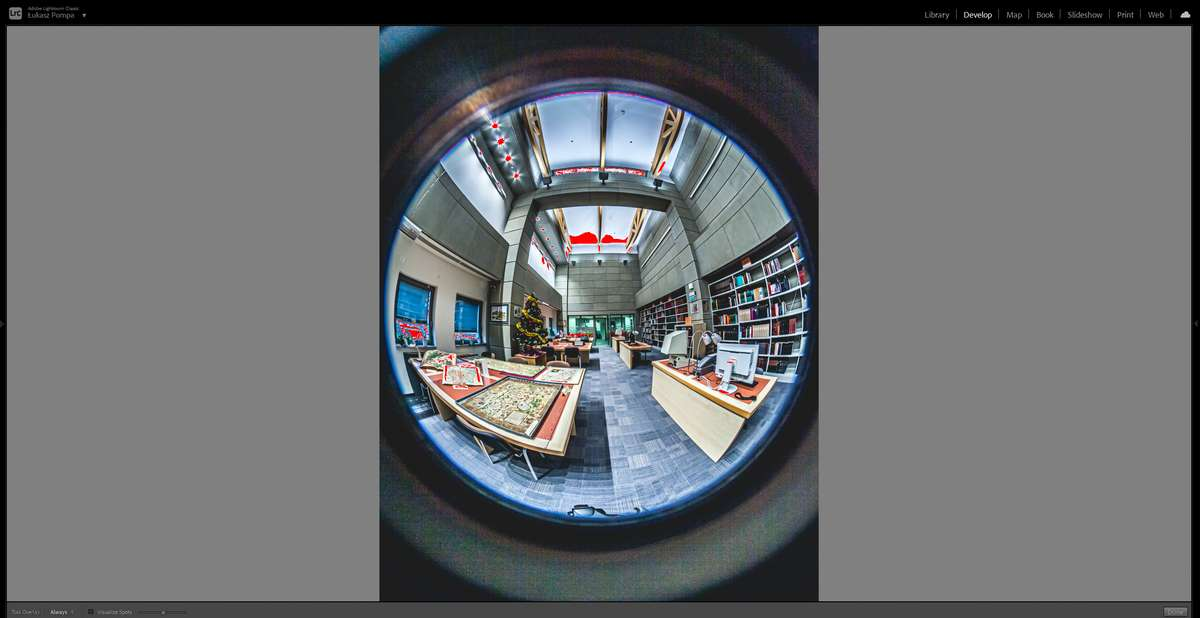 spacer wirtualny w uczelni wyzszej
