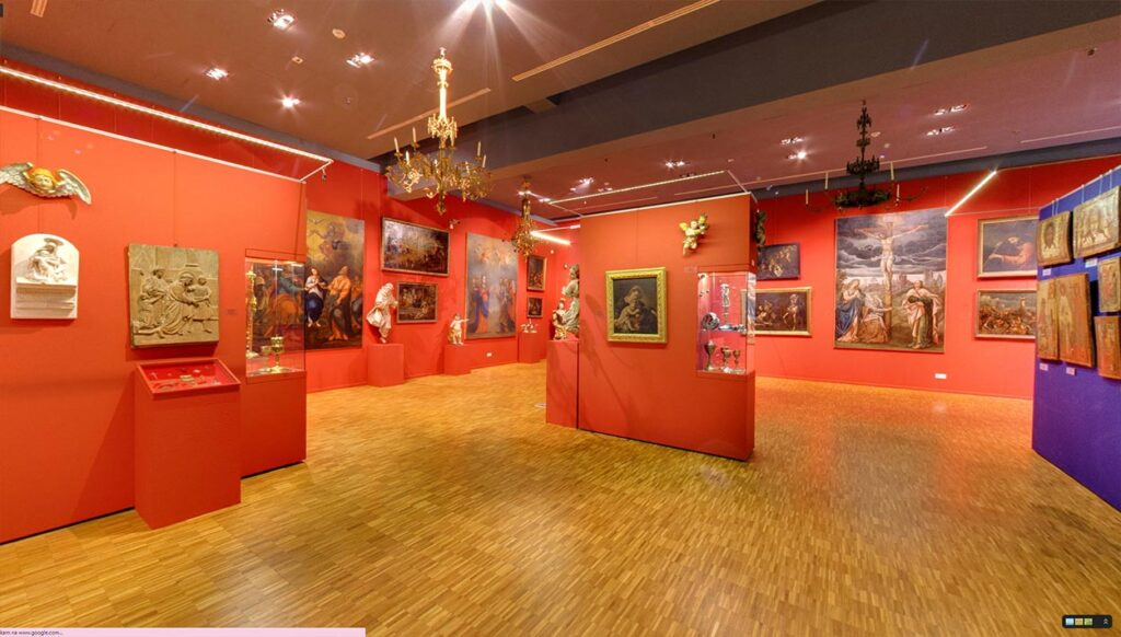 Spacer wirtualny Street View po Muzeum Narodowym w Przemyślu