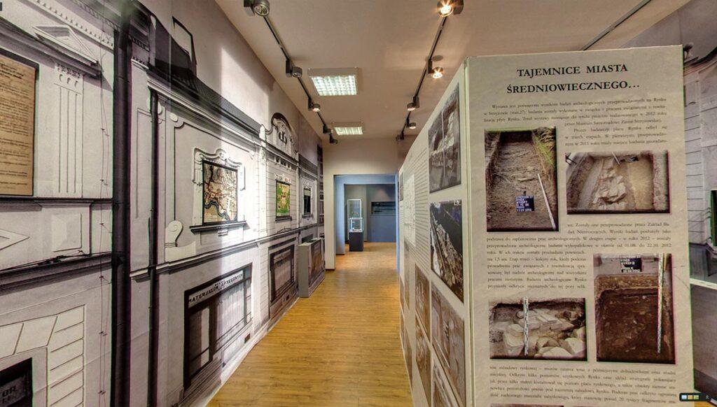Spacer wirtualny Street View po muzeum regionalnym w Strzyżowie